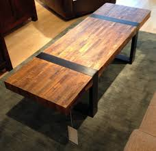 teak bench industrial wood crate and barrel coffee tables designs ideas for living room