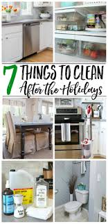 7 Things to Clean After the Holidays - Clean and Scentsible