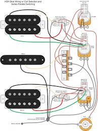 stratocaster hsh wiring diagram wiring diagram hsh strat coil selection and