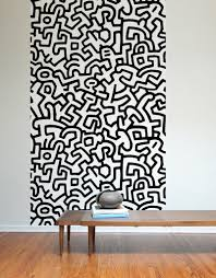 keith haring pattern wall tiles  on wall designer accents adhesive art with keith haring adhesive wall tiles stick on wall tiles blik