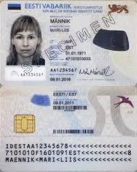 Card Estonian - Identity Wikipedia