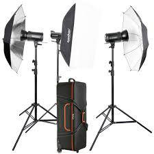 Godox Light Godox Sk300ii 3 Light Studio Flash Kit