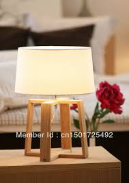 Diy Wooden Table Lamp Interior Design Home Decor Wooden Diy