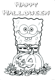 Small Picture Printable halloween spongebob coloring pagesFree Printable