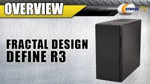 Fractal Design Define R4 Newegg Newegg Tv Fractal Design Define R3 Atx Mid Tower Computer Case Overview