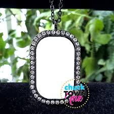 sublimation jewelry blank dog tag