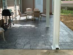 outdoor concrete patio floor coverings. good casual white wooden fence and black side armchair along with painting outdoor concrete floors ideas patio floor coverings