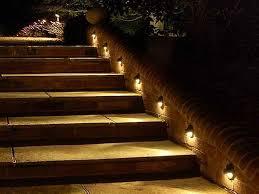 outdoor stair lighting ideas