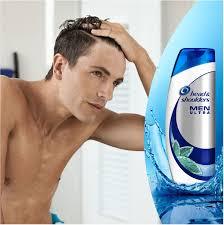 Head Shoulders Men Ultra Instant Verlichting Anti Roos Voordeelverpakking 6x225ml Shampoo
