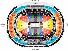 Sixers Game Seating Chart Seating Charts Wells Fargo Center