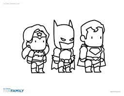 Small Picture Dc Comic Coloring Pages FunyColoring