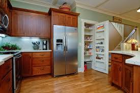 kitchen in the pecan home