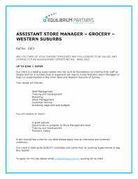 Manager Duties Resume Beautiful Grocery Store Manager Resume Example