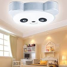 kids lighting ceiling. Kids Flush Mount Ceiling Light With Panda Cover For Lighting Ideas