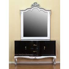 black silver dressing table 1 black and silver furniture