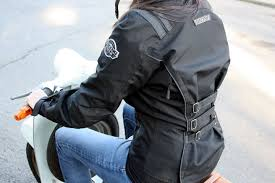 las motorcycle jacket review back