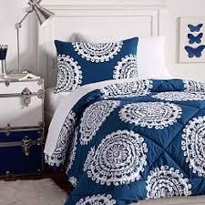 blue college bedding sets
