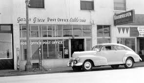 the garden grove post office in the 1950s courtesy the orange county archives