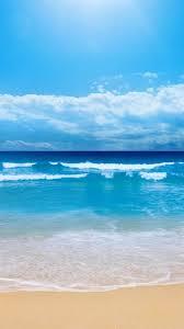 iphone 6 wallpaper beach. Wonderful Beach Nature Clear Ocean Beach Skyline IPhone 6 Wallpaper With Iphone Wallpaper