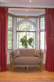 Living Room Bay Window Treatment Inspiring Bay Window Drapes Curtains Images Decoration Ideas