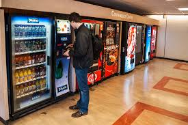 Personal 12 Can Soda Vending Machine Stunning Vending Machine Bans In Schools Encourage Kids To Find Fast Food