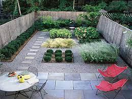 small garden design no grass backyard