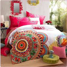 luxury boho bedding sets queen king size bedclothes bohemia duvet cover set bedsheet pillowcase bed set 100 cotton cool bedding blue bedding sets from
