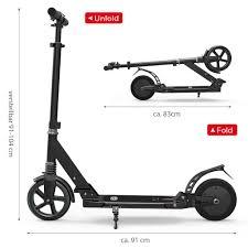 Faltbar Elektroroller E Scooter Elektro Scooter City Roller 12kmh 150w