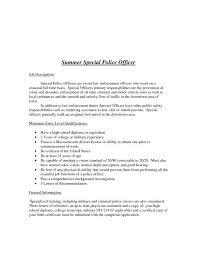 Letters Of Recommendation For Police Officers
