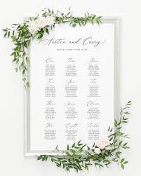 Seating Chart Wedding Austin Seating Chart