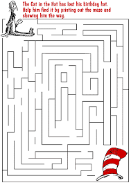 Small Picture Dr Seuss Maze Dr Seuss Pinterest Maze Dr seuss activities