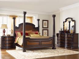 King Size Black Bedroom Furniture Sets Ashley Shay King Poster Bedroom Set In Black Finish Queen Poster
