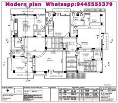 architectural plans of houses. Best Architecture Plan For Two Floor Residential Imanada Contractors In Chennai Modern House Chennaimodern Plans Architect Planshouse Ideas Simple Home Architectural Of Houses S