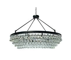 rectangular glass drop chandelier extra large crystal black light inside ideas