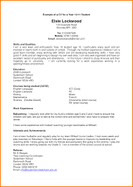 Create Perfect Resume 7 Good Cv Template For Students Quick Askips
