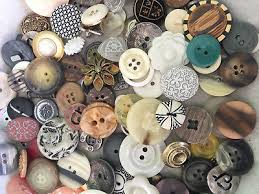 Britex Button Sizing Chart Sweetest Mix 100 Pcs Mixed Lot Of Old Vintage New Buttons