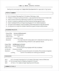 Resume Freshers Format Download – Resume Directory