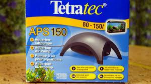 TETRA APS 150 - <b>Компрессоры</b> для аквариума - YouTube