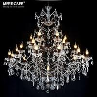 cheap contemporary crystal chandelier lighting 25 lights large decorative iron chandelier suspension lamp for indoor hotel cheap contemporary lighting