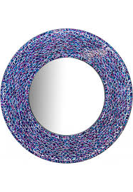 decors 24 inch round wall mirror