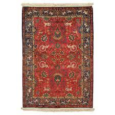 antique silk turkish rug handmade oriental rug red and blue fine silk rugs