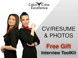 Your Cv Resume Photo Basics Cabin Crew Job Interview Tips
