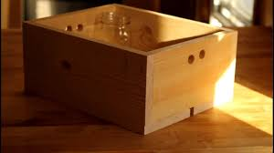 Wooden Crate With Handles Diy Wooden Mason Jar Crates Youtube