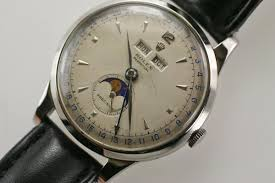vintage of the week rolex moonphase padellone 8171 moonphase watch by rolex