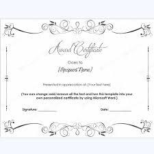 Permalink To Using Formal Printable Award Certificates To Honor