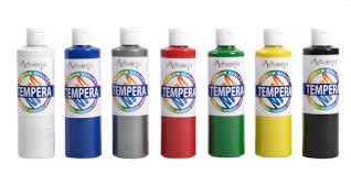 tempera paint my personal preference for windowpainting is proart tempera i used it almost exclusively in my window painting business
