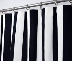 Navy And White Curtains Stunning Navy And White Shower Curtain Images 3d House Designs