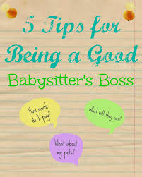 How To Be A Good Baby Sitter Yellow Door Diaries 5 Tips For Being A Good Babysitters Boss