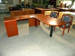 incredible office furnitureveneer modern shaped office. Peninsula Desk Office Furniture Used L Shape Wood Veneer By Incredible Furnitureveneer Modern Shaped N