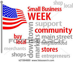 american flag word art clip art of small business week usa flag k21064669 search clipart